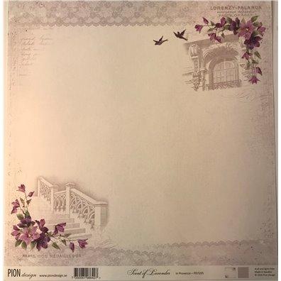 Scent of Lavender – In Provence mønsterpapir fra Pion Design