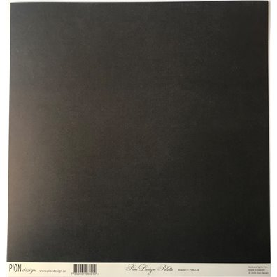 Pion Palette Black I mønsterpapir fra Pion Design