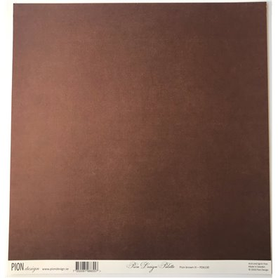 Pion Palette Brown III mønsterpapir fra Pion Design