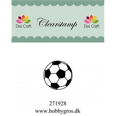 Dixi Craft Clear Stamp - Fodbold