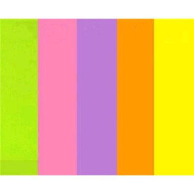 Vellum A4 - 10 ark - Neon farver