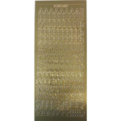 Stickers Alfabet