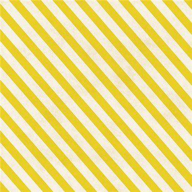 Flea Market Collectible - Yellow Stripes - Mønsterpapir fra Crate Paper