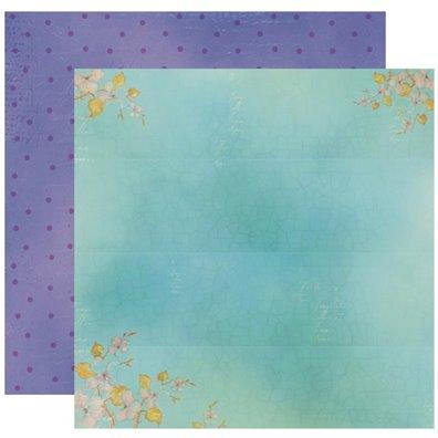Lavender morning - 01 - Mønsterpapir fra Studio 75