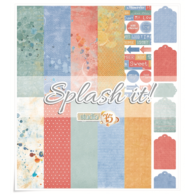 Studio 75 Splash It! 12x12 Paper Set