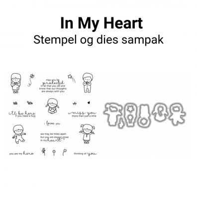 Mama Elephant In My Heart stempel og dies sampak