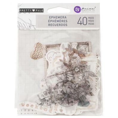 Lavender Ephemera Die-cuts fra Prima