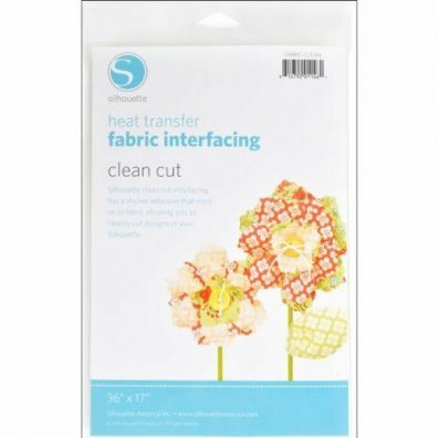 Silhouette - Heat Transfer - Fabric interfacing