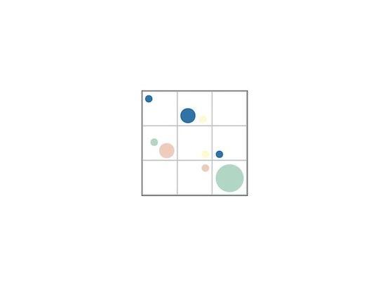 Tile Junkie - Designstickers til filser! Lille & mellem dot - Rosa