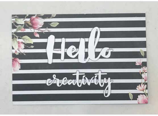 Piatek13 - Journaling Card - Say Hello
