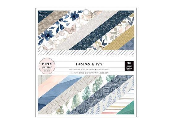 Indigo and Ivy 6x6 Blok fra Pink Paislee - Forudbestilling