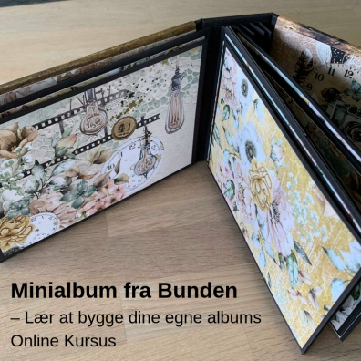 Lav dit eget Minialbum - Online kursus