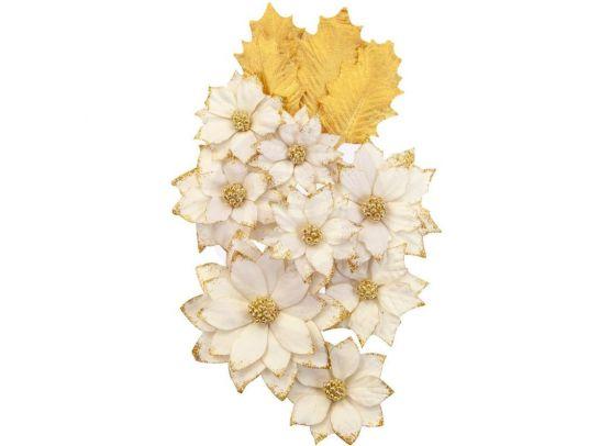 Prima Zella Teal Flowers - Dreams