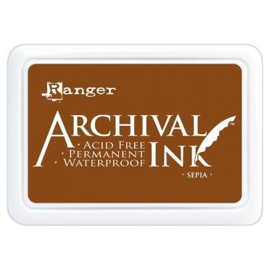 Archival Ink Pads - Sepia