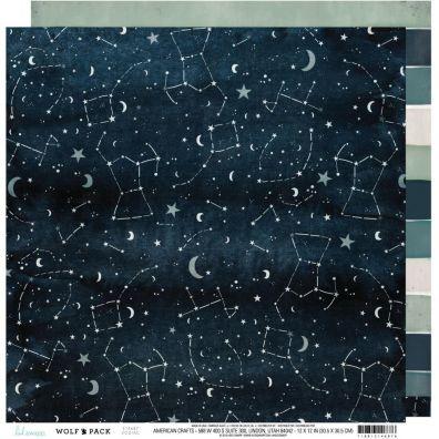 Wolf Pack - Zodiac mønsterpapir fra Heidi Swapp