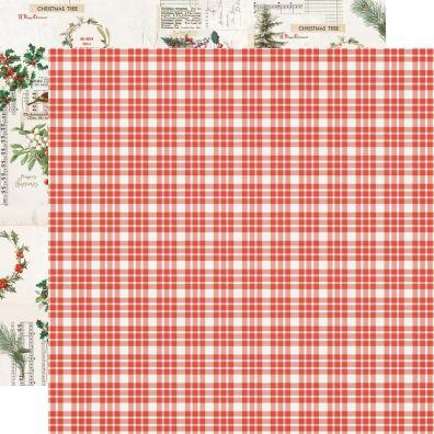 Country Christmas - Wonderful Life mønsterpapir fra Simple Stories