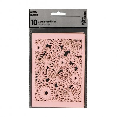 10 Cardboard Lace - Mix & Match fra Happy Moments