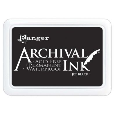 Archival Ink Pads - Jet Black