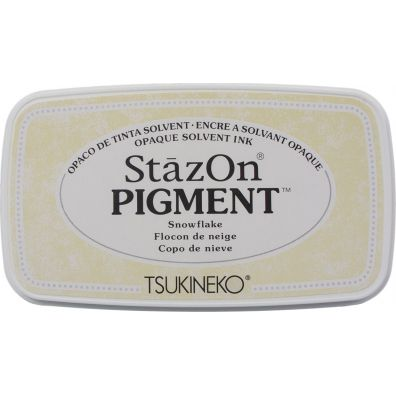 StazOn Pigment ink pad - Snowflake