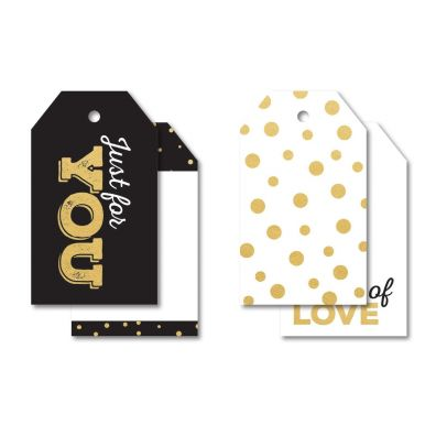 A Touch of Gold Tag Pack fra KaiserCraft