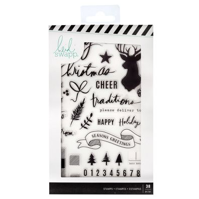 Heidi Swapp clear stamp - Winter wonderland