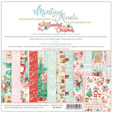 Mintay By Karola Cozy Evening 6x6 Paper Pad