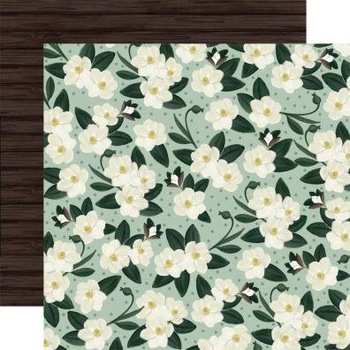 Home Again - Magnolias mønsterpapir fra Carta Bella