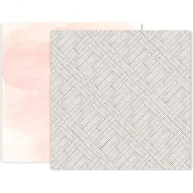 Pink Paislee Indigo & Ivy - Paper 11 mønsterpapir
