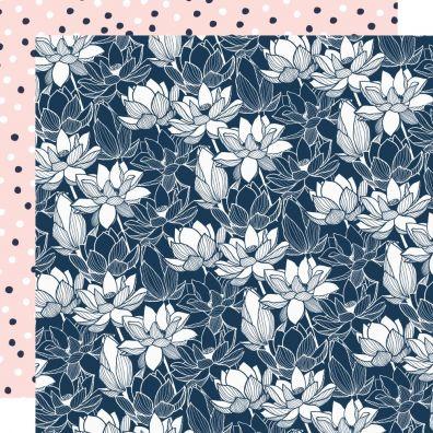 Breathe Collection - Mosaic Stroke mønsterpapir fra Kaiser Craft