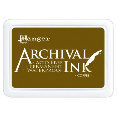 Archival Ink Pads - Coffee