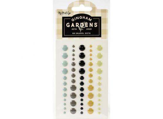 Gingham Gardens Enamel Dots - My Minds Eye