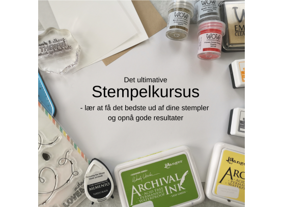 Stempelkursus - Online kursus