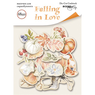 Scrapmir Die-cuts - Ephemera - Falling in Love