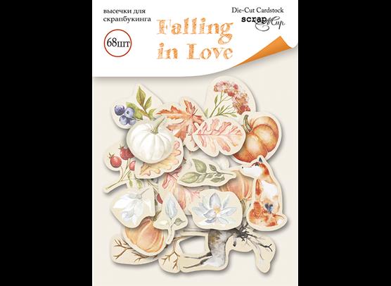 Scrapmir Die-cuts - Ephemera - Falling in Love