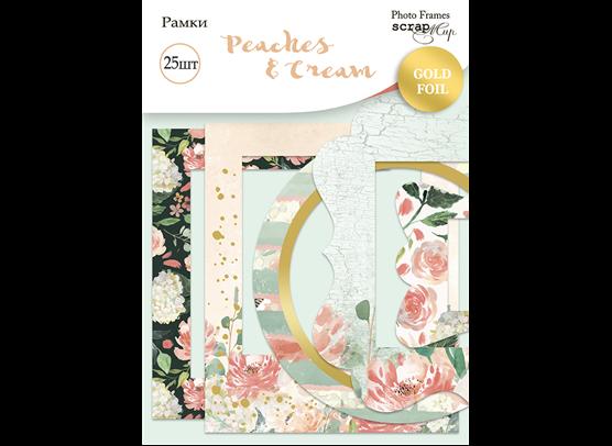Scrapmir Die-cut Frames - Peaches & Cream