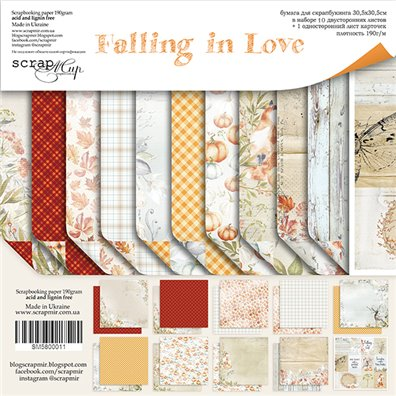 Scrapmir 12x12 Collection Kit - Falling in Love