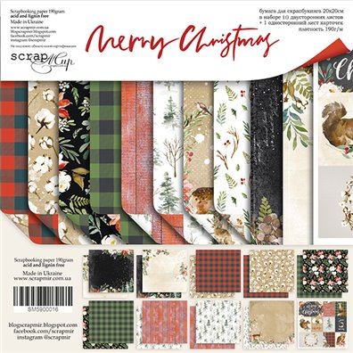 Scrapmir 8x8 Collection Kit - Merry Christmas