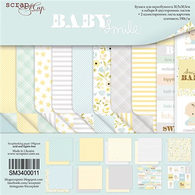 Scrapmir 12x12 Collection Kit - Baby Smile