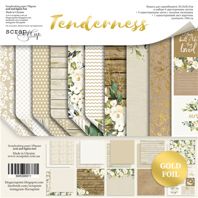 Scrapmir 12x12 Collection Kit - Tenderness