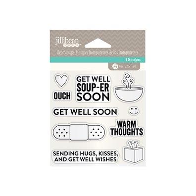 Add on Maj - Jillibean Soup Clear Stamp Get Well Soon