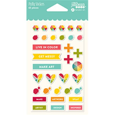 Add on Maj - Jillibean Soup Shades of Color Puffy Stickers