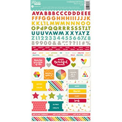 Add on Maj - Jillibean Soup Shades of Color Stickers