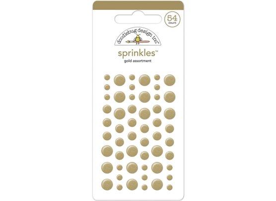 Add on Juni - Doodlebug Sprinkles Gold Dots