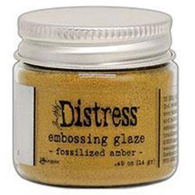 Add on Juni - Distress Embossing Glaze - Fosslized Amber
