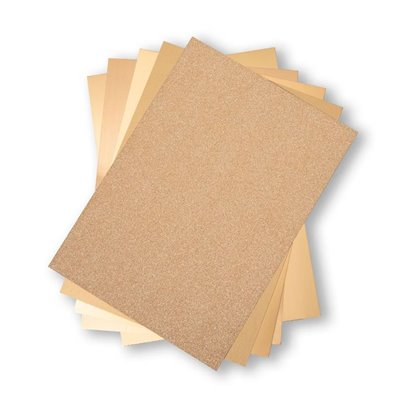 Add on Juni - Sizzix Opulent Cardstock Pack - Guld
