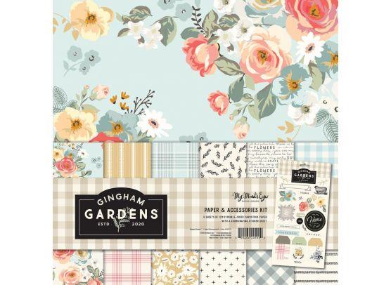 Add on juli - My Minds Eye - Gringham Gardens - 6x6 paper pad