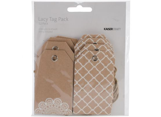 Add on Juli - Kaiser Craft - Lacy Tag Pack