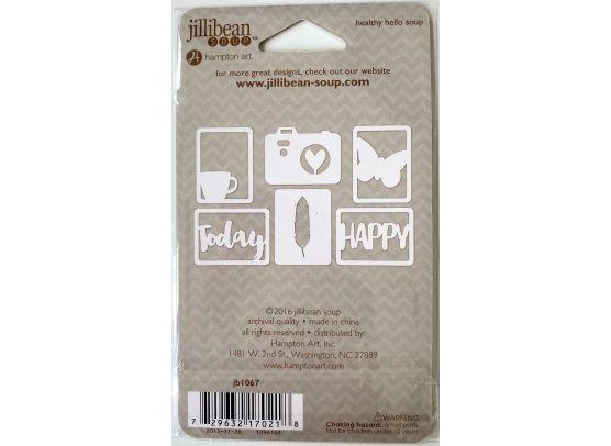 Jillibean Soup - Garden Harvest - Clear stamp
