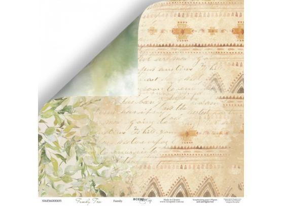 Family Tree - Family Mønsterpapir fra Scrapmir