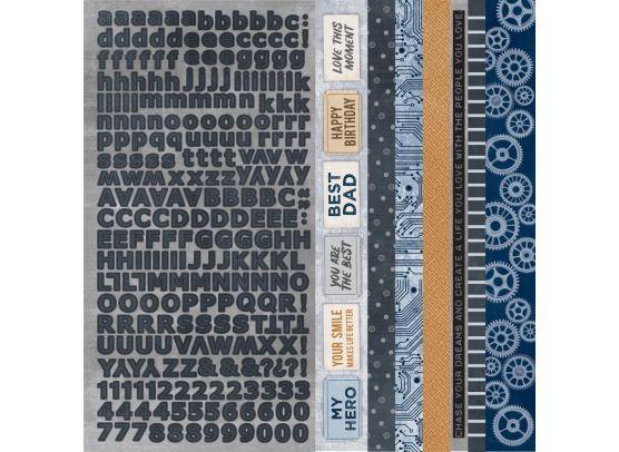 Add on August - Workshop 6x6 Paperpad fra Kaisercraft